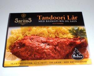 Prøv også Saritas tandoori lår med basmatiris og saus.