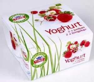 Bilde av TINE Yoghurt Økologisk jordbær.