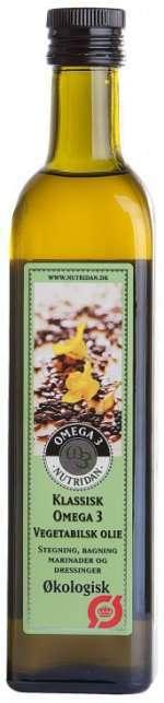 Bilde av Nutridan Klassisk Økologisk høykonsentrert Omega-3 olje.