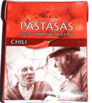 Bilde av Ica pastasaus med chili.