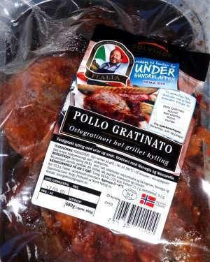 Prøv også Solvinge pollo gratinato.