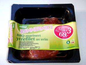 Prøv også Coop BBQ Marinert ytrefilet av svin.