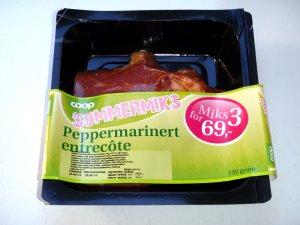 Prøv også Coop peppermarinert entrecote.