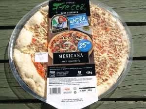 Bilde av Fresca Pizza Mexicana med kjøttdeig.