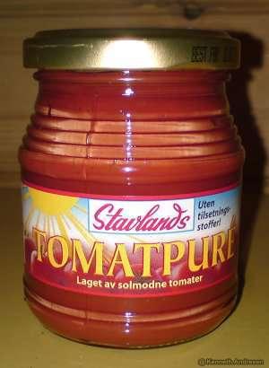 Prøv også Stavlands Tomatpuré.