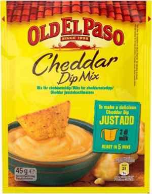 Prøv også Old El Paso Cheddar Dip Mix.