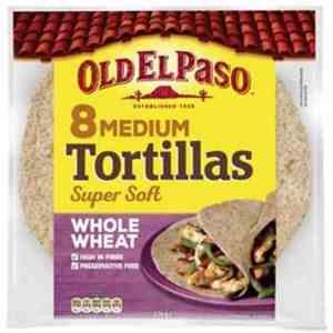 Prøv også Old El Paso Flour Tortillas medium.