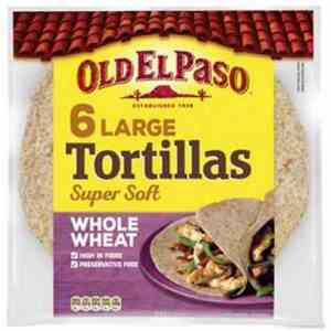 Prøv også Old El Paso Whole Wheat Tortillas.