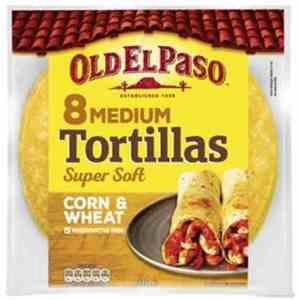 Prøv også Old El Paso Corn Tortillas.