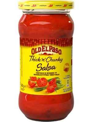 Prøv også Old El Paso Thick 'n' Chunky Salsa Medium.