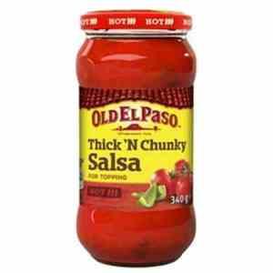 Prøv også Old El Paso Thick 'n' Chunky Salsa Hot.