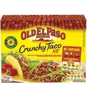 Prøv også Old El Paso Taco Dinner Kit.