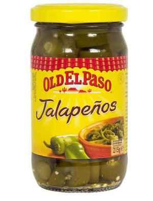 Prøv også Old El Paso Jalapeños.