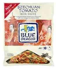 Bilde av Blue Dragon Woksaus Szechuan Tomato.