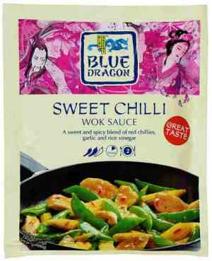Bilde av Blue Dragon Woksaus sweet Chili.