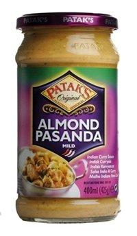 Prøv også Pataks Pasanda Mandel Curry Sauce.