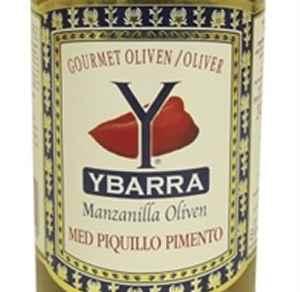 Bilde av Ybarra Grønn Gourmetoliven med pimiento.