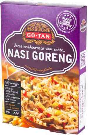 Bilde av Go-tan Woksaus Nasi Goreng dinnerkit.