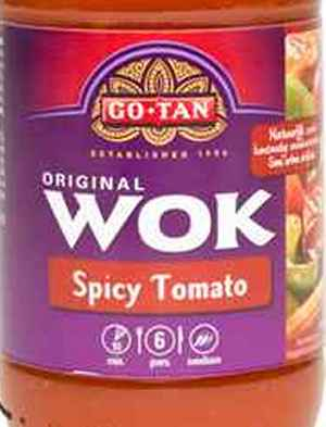 Prøv også Go-tan Spicy tomato woksaus.