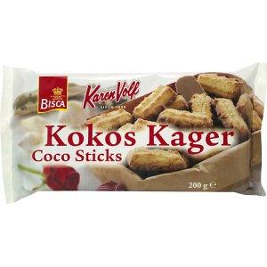 Prøv også Karen Volf Kokos kager.