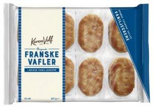 Bilde av Karen Volf Franske vafler med smak av vanilje.