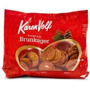 Prøv også Karen Volf Klassiske Brunkager.