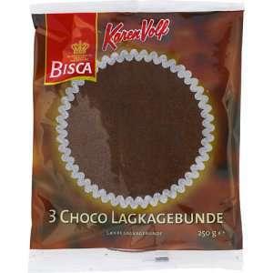 Bilde av Bisca 3 Choco lagkagebunner.