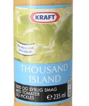Bilde av Kraft Thousand Island dressing.