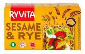 Prøv også Ryvita Sesam.