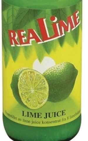 Prøv også ReaLemon limesaft.