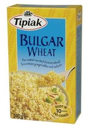 Prøv også Tipiak bulgur hvete.