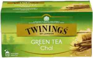 Prøv også Twinings grønn te chai.