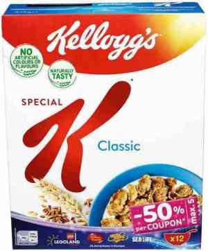 Prøv også Kelloggs special K.