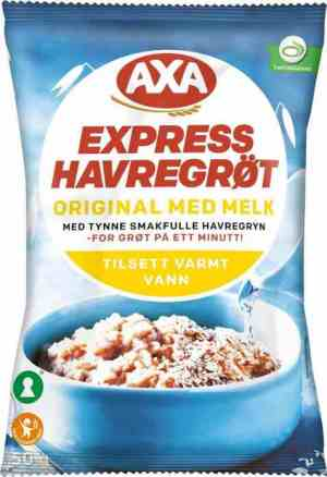 Prøv også Axa Bjørn Havregrøt med melk.