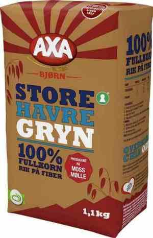 Prøv også Axa Bjørn Havregryn Store.