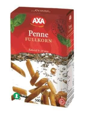 Prøv også AXA Penne Fullkorn.
