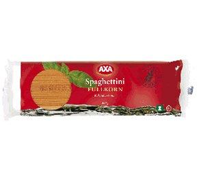 Prøv også AXA Spaghettini.