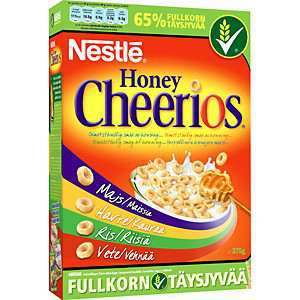 Prøv også Nestle Honey Cheerios.