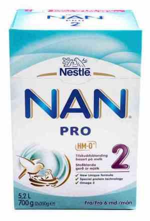Bilde av Nestle nan 1 pulver.