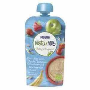 Bilde av Nestle økologisk jordbær-banan.