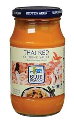 Bilde av Blue Dragon Thai Red Curry cooking saus.