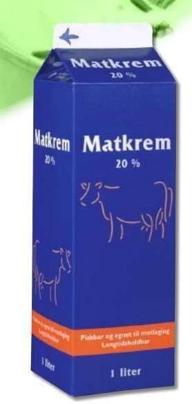 Prøv også Tine Matkrem.