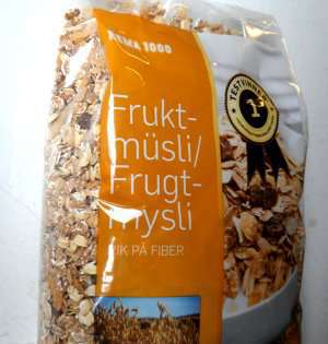 Prøv også Rema Frukt musli.