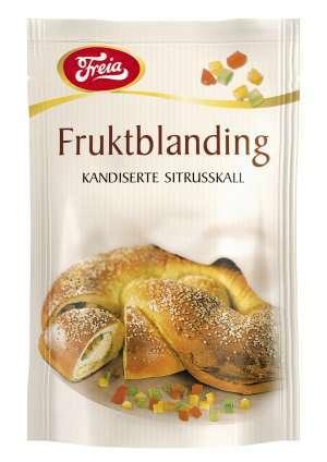 Prøv også Freia fruktblanding.