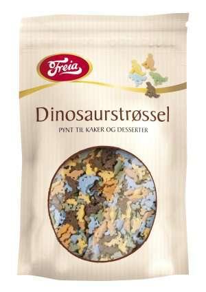 Bilde av Freia dinosaur strøssel.