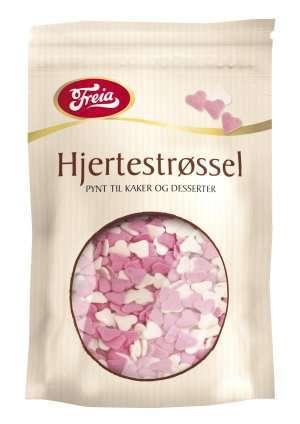 Prøv også Freia sjokoladedekor hjerter.