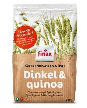 Bilde av Finax dinkel og quinoa.