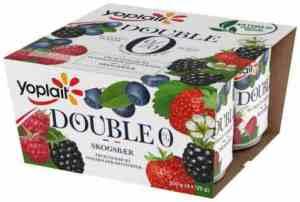 Prøv også Yoplait Dobbel 0% Sesongens Solbær 4 x 125 g.