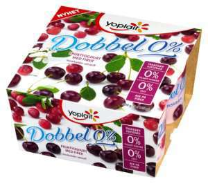 Prøv også Yoplait Dobbel 0% Tranebær.