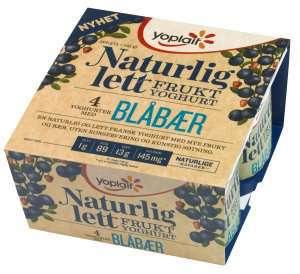 Prøv også Yoplait Naturlig Lett Blåbær.